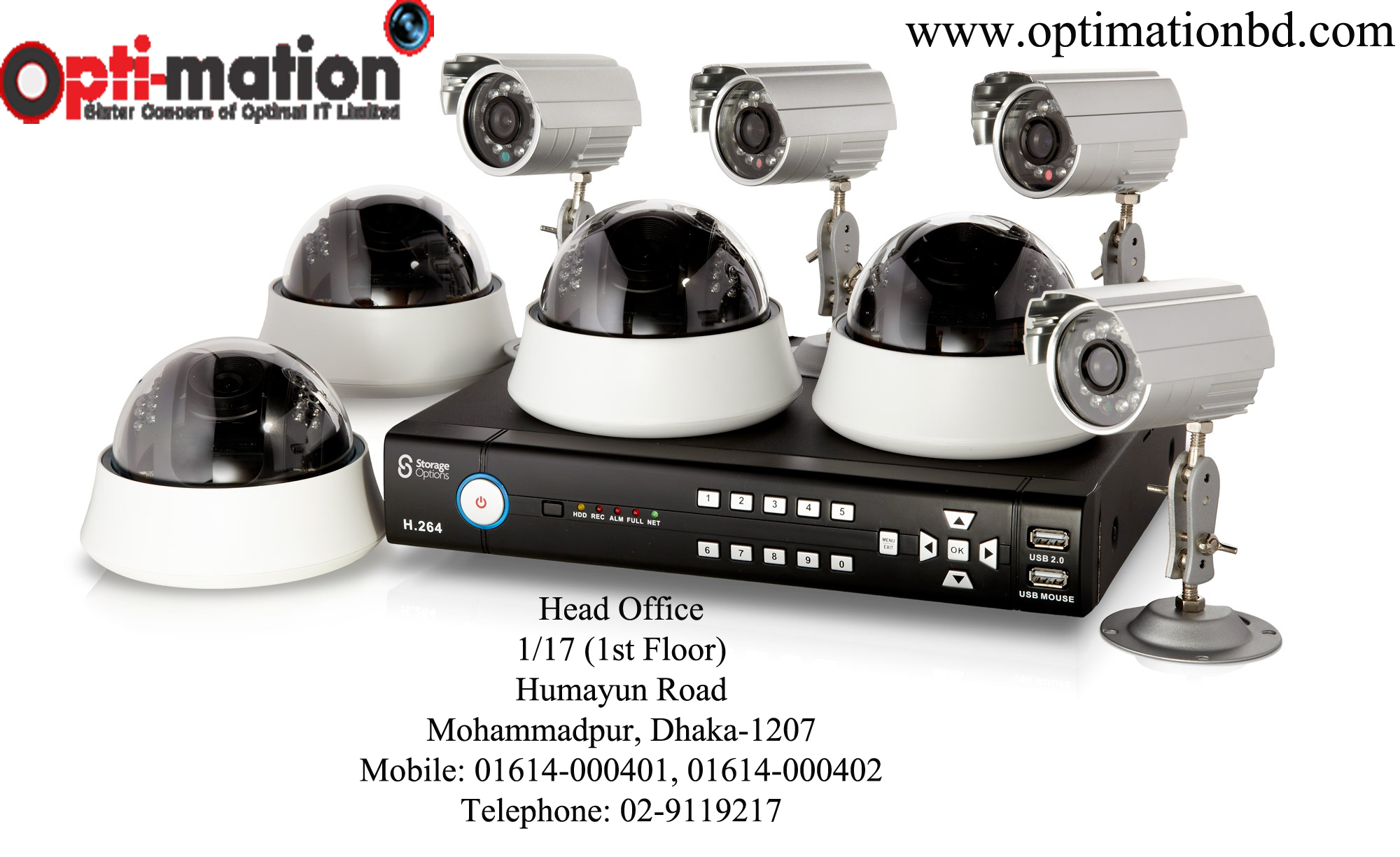 cctv camera bd-optimationbd